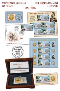 145 de ani de la inaugurarea Monetaria Statului_145 since the inauguration of the Romanian Mint