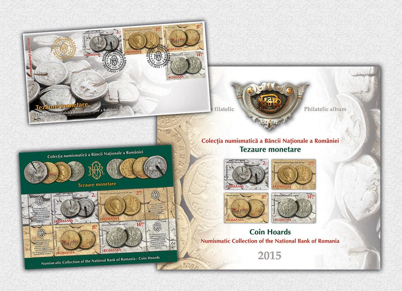 Album_Colectia numismatica a BNR, Tezaure Monetare (II)_Numismatic collection of the NBR, Coin Hoards (II)
