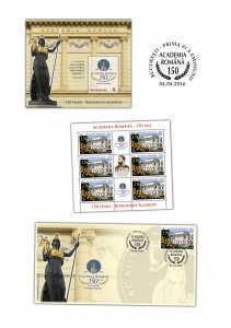 Academia Romana, 150 de ani_Romanian Academy, 150 years