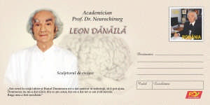 Plic - timbru aniversar Leon Danaila